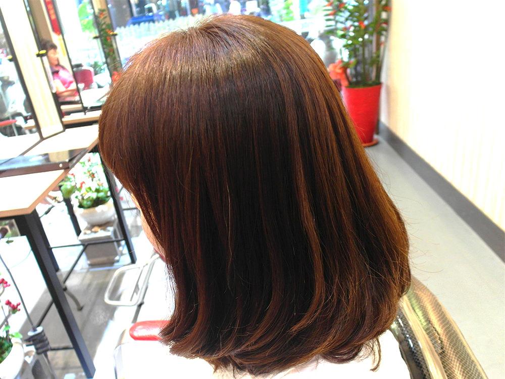 『韓系髮根燙 』中長髮作品