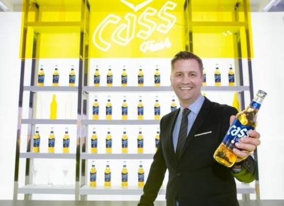 오비 비어는 맥주 브랜드 '카스'의 원료와 공법, 패키지 디자인을 개편 한 신제품 '올 뉴 카스'를 12 일 출시한다고 밝혔다.  사진 = 오비 맥주