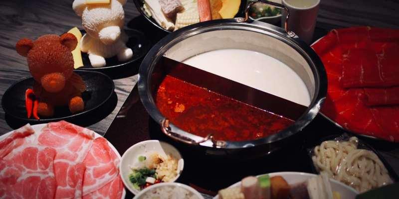 【桃園】桃園圓味涮涮鍋,鴛鴦圓仔熊約你來泡湯