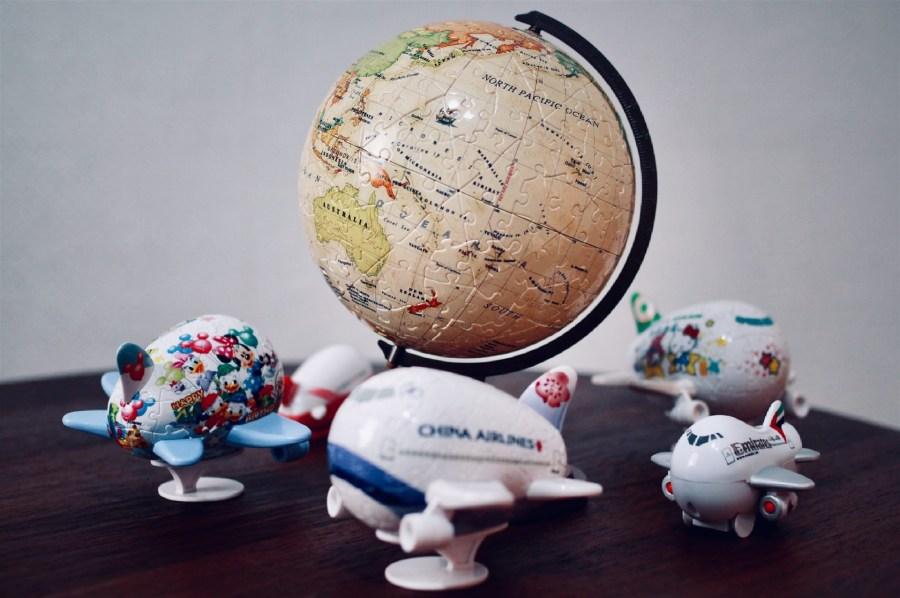 【分享】Pintoo地球儀拼圖,拼出一個環遊世界的夢想
