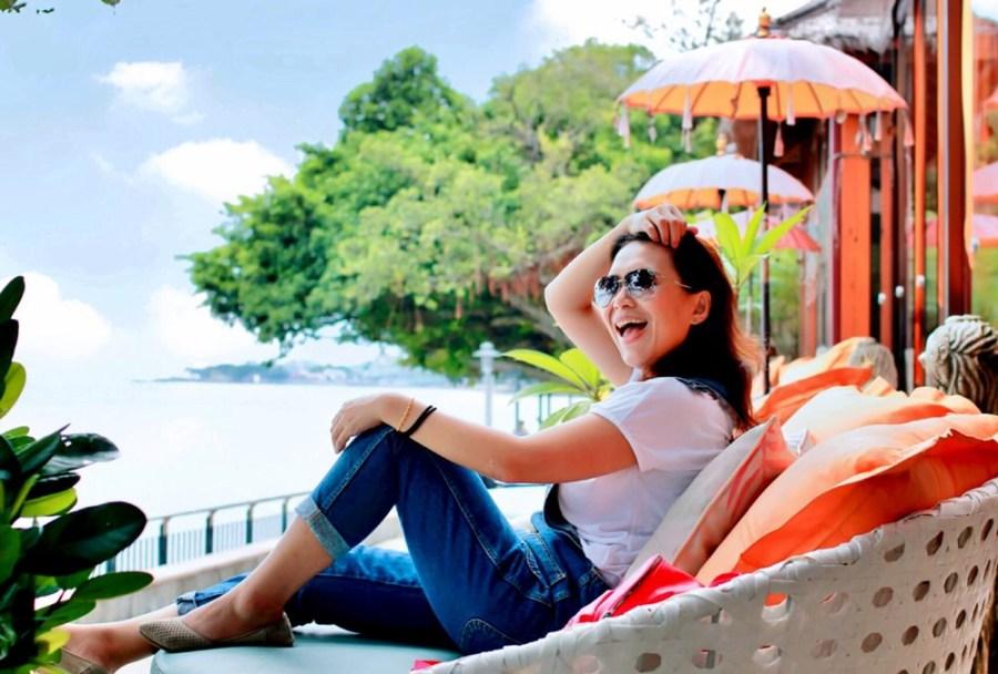 淡水景觀餐廳/榕堤水灣餐廳,聽著海風滑過耳畔的聲音,賞淡水最美的河岸美景