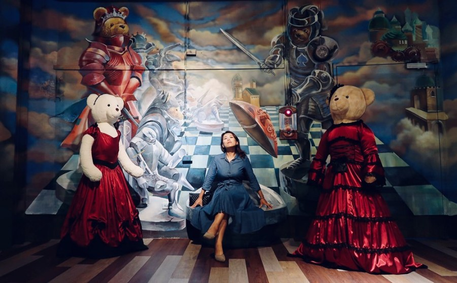 新竹旅遊景點/關西小熊博物館,亞洲最強大的泰迪熊博物館,帶您環遊世界去
