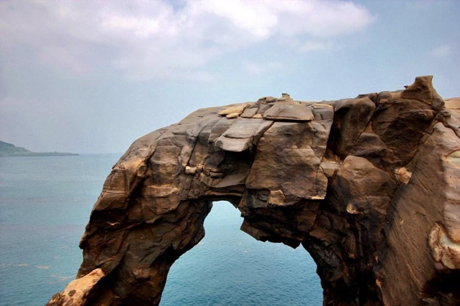 新北旅遊景點/瑞芳深澳岬角象鼻岩景觀區,一起來朝聖看海岸旁的大象吧!