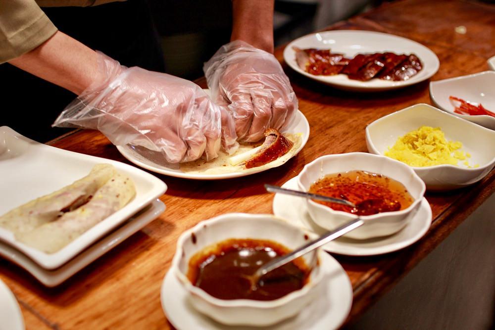 桃園江浙料理/桃園點水樓,隱身在南僑觀光體驗工廠內的道地江南料理,這一桌吃起來真嚇人