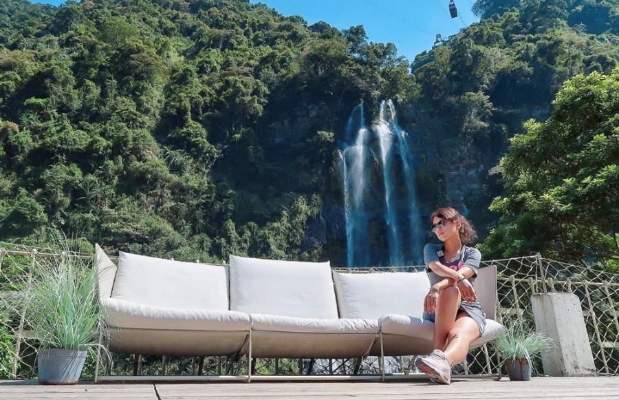 新北旅遊景點/烏來老街10間遊玩推薦的小吃美食,吃飽喝足散步來去看烏來瀑布