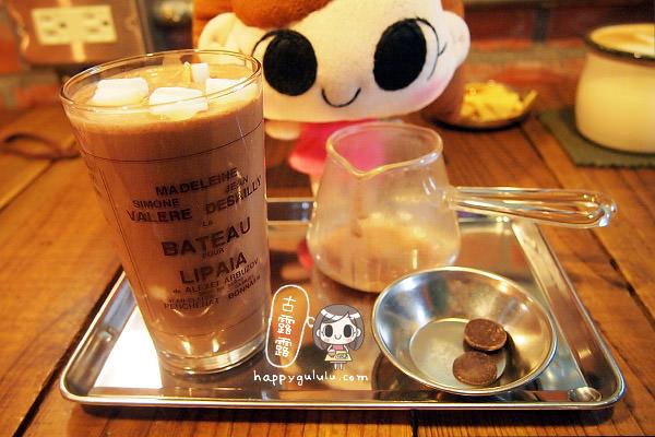 [臺北] 來做巧克力實驗「 Joco latte」咖啡館 (葷素 - 古露露的幸福蔬食物語
