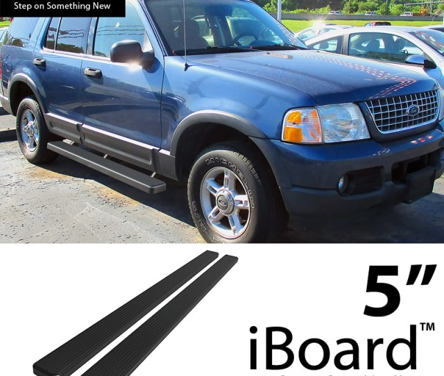 Image Is Loading 5 034 Black Eboard Running Boards Fit Ford