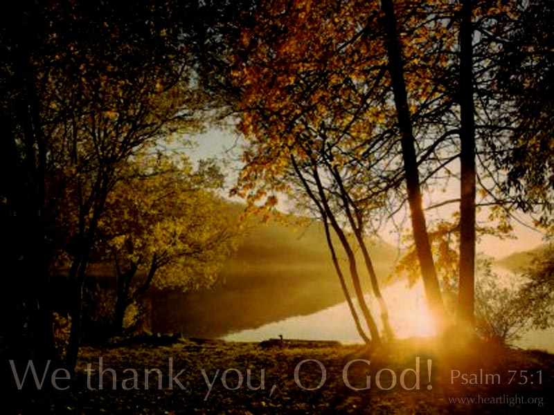 We Thank God For You Heartlight