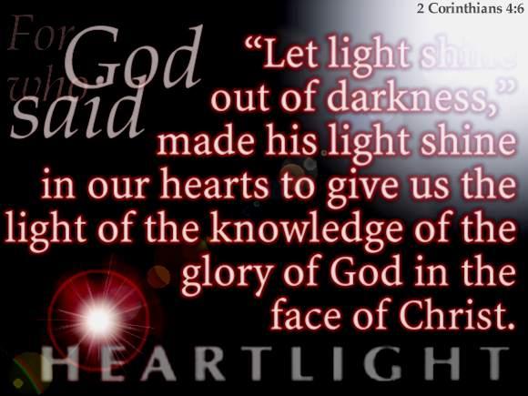 2 Corinthians 4:6 (38 kb)