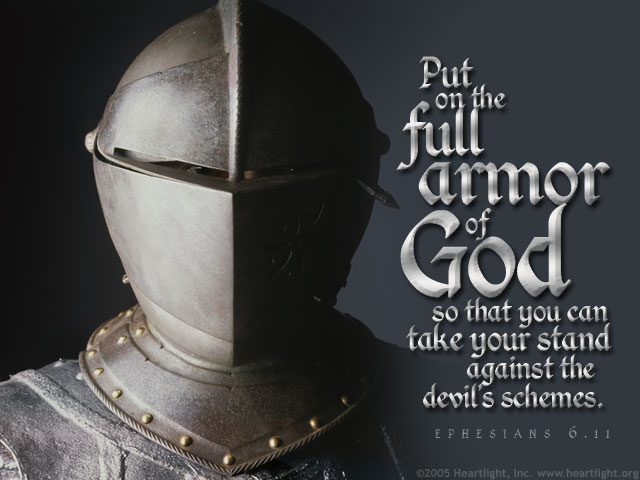 Image result for Eph 6:11