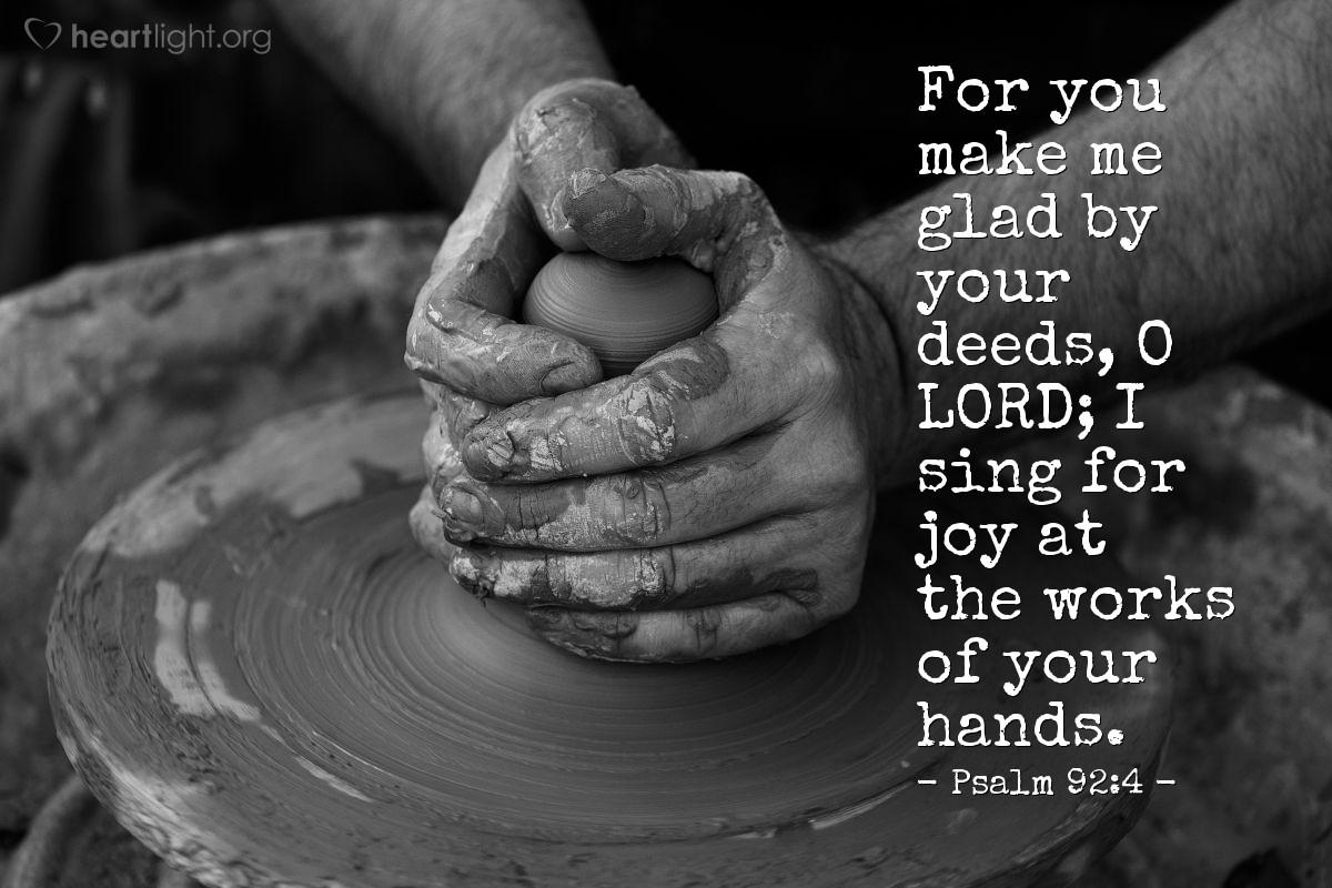 Psalm 92 4