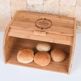 Anneye Mutfak Hediyesi Ahşap Ekmek Dolabı