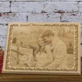 Eşinize Özel Hediyelik Ahşap Foto