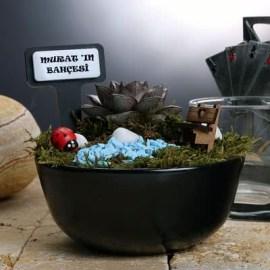 Annelere Özel Hediye Minyatür Bahçe