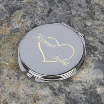 Kalpli Metal Ayna