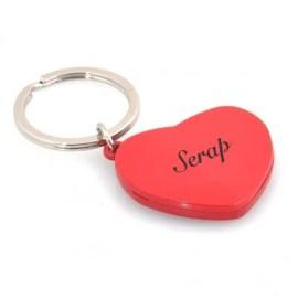 Sevgiliye Özel Kalpli Anahtarlık