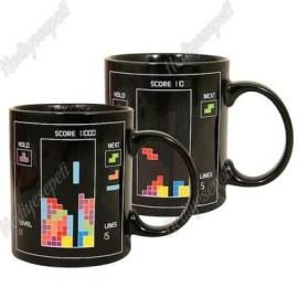 Yılbaşına Özel Tetris Tasarımlı Sihirli Kupa