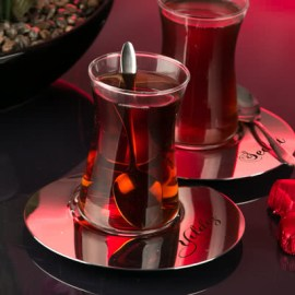 Ev Hediyesi İsim Yazılı 2li Çay Bardağı Seti