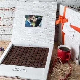 Sevgiliye Anlamlı Hediye Harf Çikolata