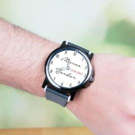 Erkek Sevgiliye Hediye İsimli Kol Saati