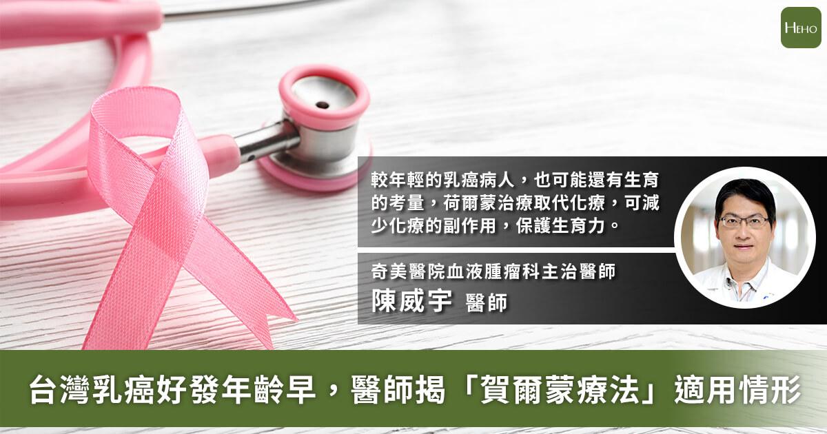 20201125_台乳癌好發年齡比歐美早10歲!醫分析「荷爾蒙療法」適用情形