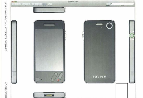 Apple Sony iPhone