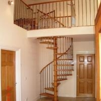 China Factory Supplier Wood Spiral Stair Used Spiral Staircases | Used Spiral Staircase For Sale | Vertical | Exterior | Contemporary | Wrought Iron | Curved