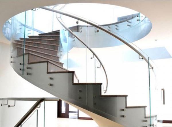 Portable Diy Tempered Glass Panels Steel Railing Pvc Handrail | Tempered Glass Panels For Stairs | Metal | Glass Balustrade | Newel Post | Acrylic | Bannister