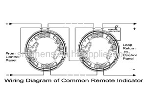 2wire intelligent addressable smoke detector from China manufacturer  Ningbo Ambest