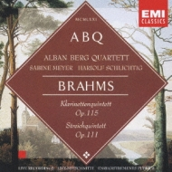 /Clarinet Quintet  String Quintet.2: Alban Berg Q S.meyer(Cl) Schlichtig(Va)