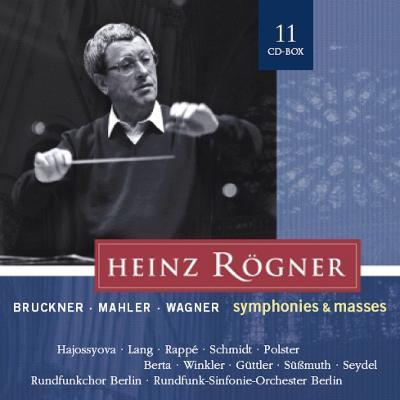 ブルックナー:交響曲第4、5、6、7、8、9番、ミサ曲第2、3番、テ・デウム、マーラー:交響曲第3番、他 レーグナー(11CD)