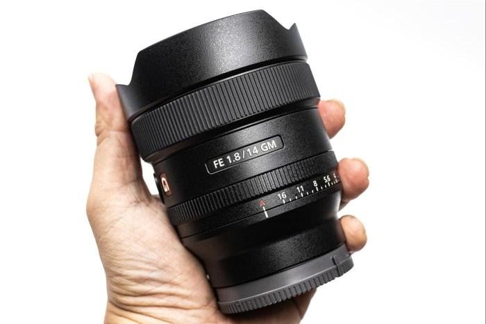 [比攝影110] Sony FE 14mm F1.8 GM 開箱 介紹,14mm/F1.8,僅 457g 輕巧的星空