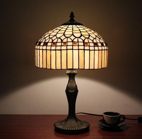Tiffany Style Jewel Bronze Finish Table Lamp0923 TF12