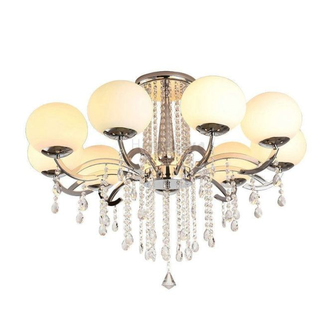 Lighting Ceiling Lights Chandeliers Chandelier Crystal Luxury Modern Living 9