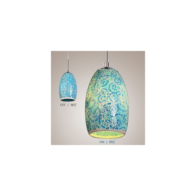 Colored Glass Pendant Light Decoration Pendant Light 1