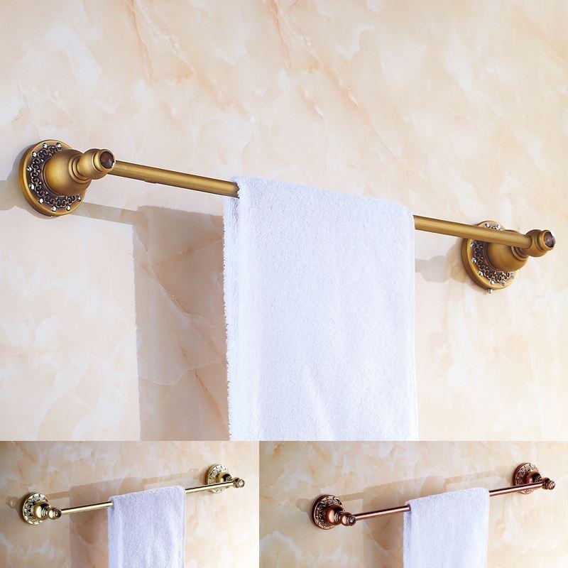 Vintage Bathroom Towel Rack