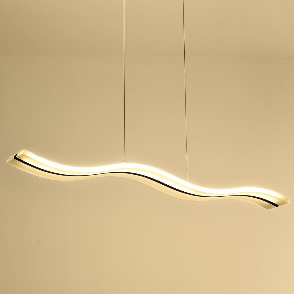 Lustre Design Moderne Suspension LED Contemporain En Forme