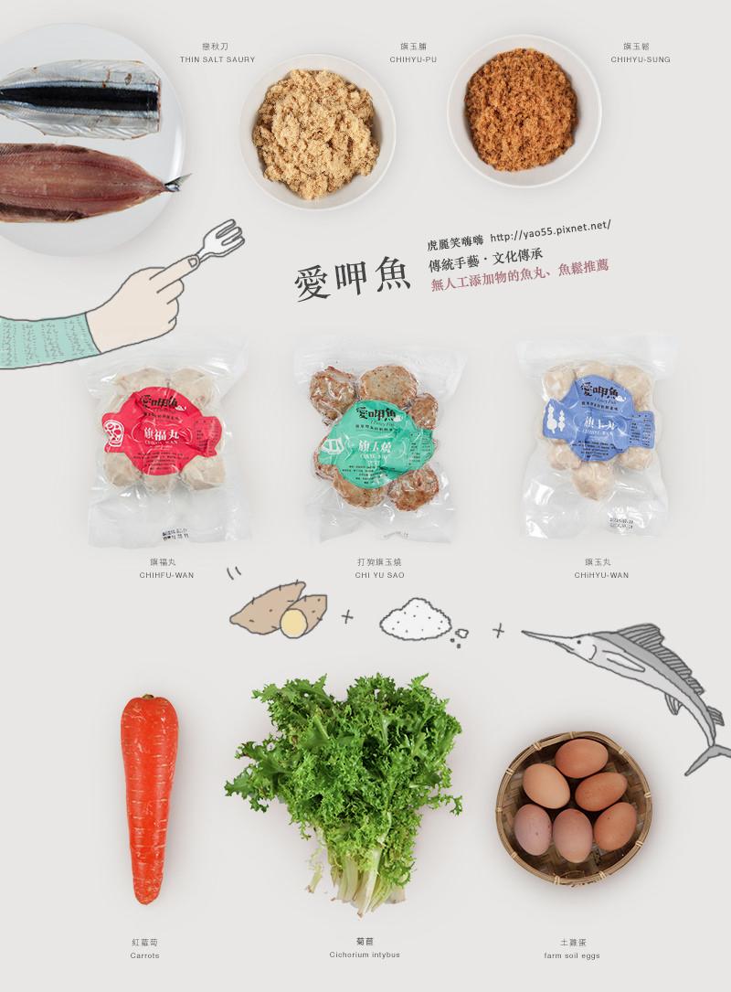【美食】網購|愛呷魚好健康。無人工添加。DIY料理10分鐘就上桌 ❤