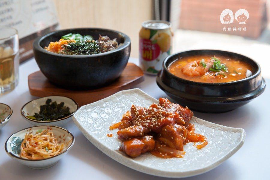 木槿花韓式食堂(高雄美食 三民區)滿足套餐!輕鬆享用多種美味