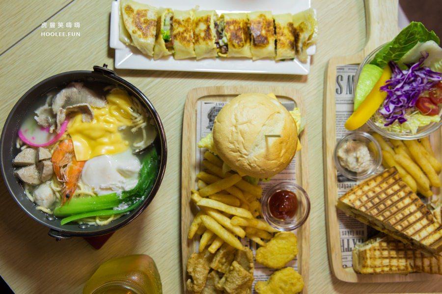 歐熊小舖(高雄美食)早午餐與宵夜!必吃醬燒肉蔥蛋餅,蒜香封肉板烤吐司
