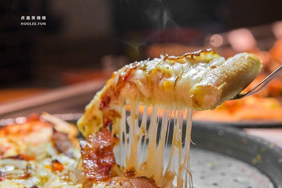 必勝客歡樂吧,聚餐,吃到飽!期間限定的燒烤派對人氣美味新菜色