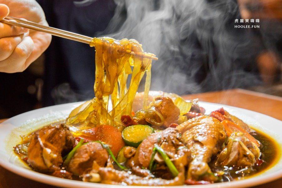 鳳雛 찜닭 (高雄美食 左營區)韓國必吃料理!安東燉雞