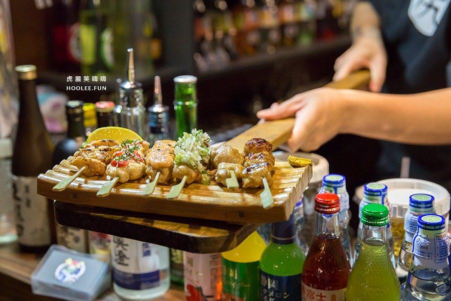 【美食】台南東區|奧尻爐端燒|木槳直送日本料理。複合式酒吧。南紡夢時代居酒屋燒烤!