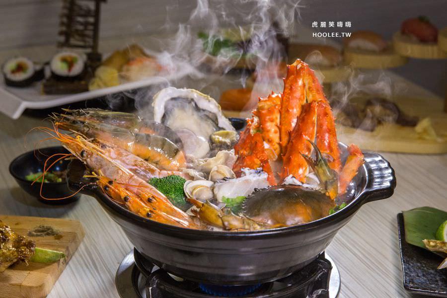 不只是鍋(屏東)超狂隱藏版痛風火鍋,海盜寶箱!必吃日式壽司和燒烤料理