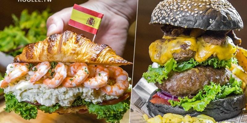 Dim Dim House 點點好食(高雄)全天候早午餐!超厚雙層漢堡和洋芋蛋可頌(已歇業)