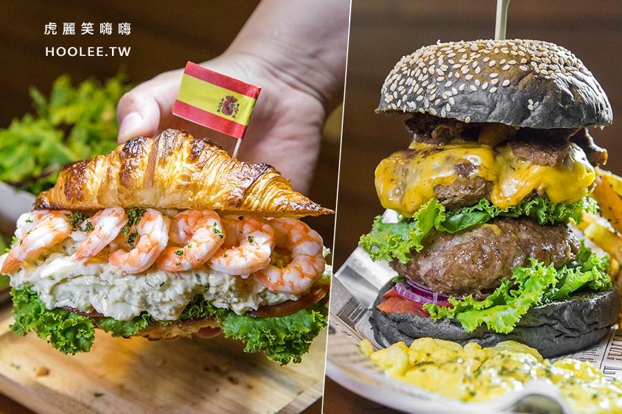 Dim Dim House 點點好食(高雄)全天候早午餐!超厚雙層漢堡和洋芋蛋可頌
