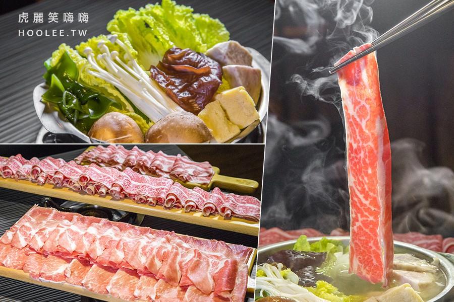 五鮮級平價鍋物建工店(高雄)肉控火鍋!17盎司大肉盤麻辣鍋,白飯免費吃到飽