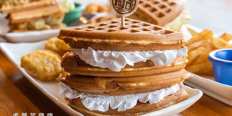 小木屋鬆餅 鼎力店(高雄)平價爆漿鬆餅!必吃季節限定草莓鮮奶油,還有卡啦雞起司鬆餅