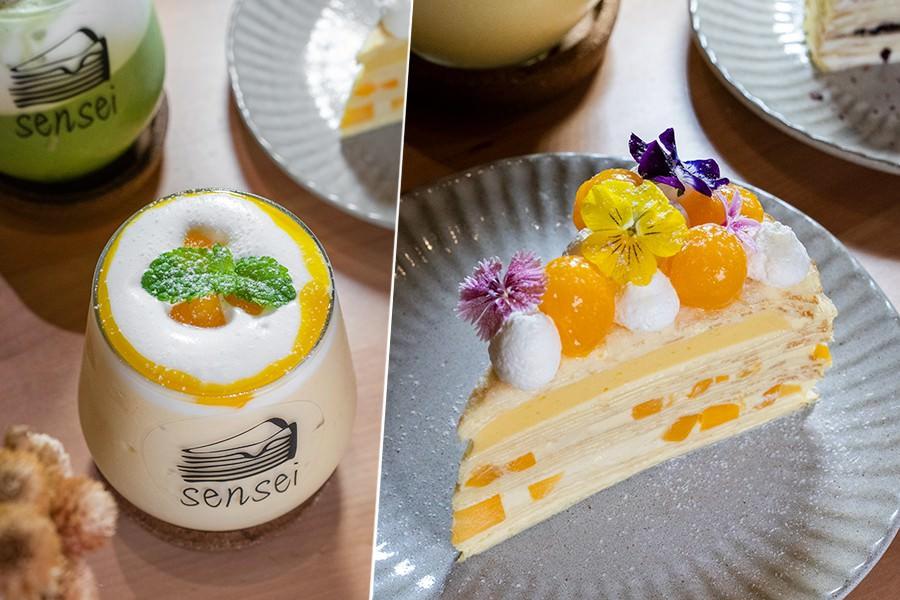 先生千層蛋糕 民權店(高雄)夢幻小仙女甜點!季節限定夏日風情,透心涼的芒果牛奶冰沙
