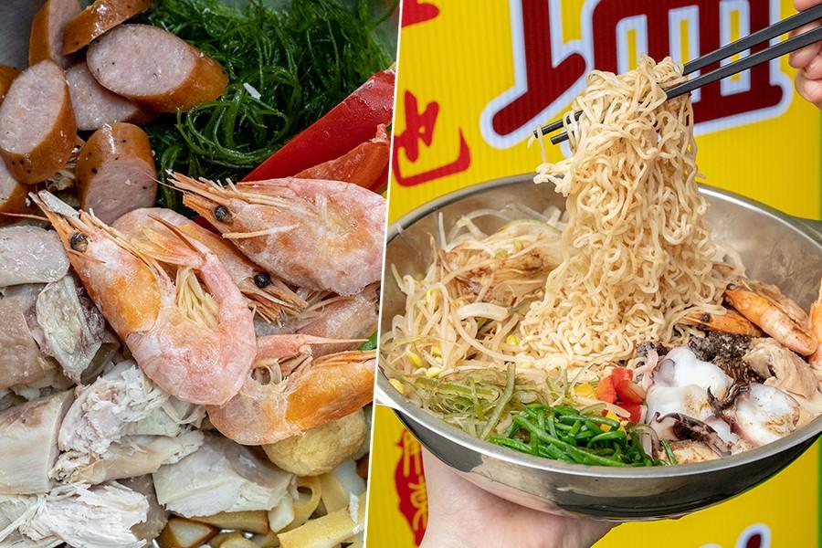 在地人鹽水雞 屏東店(屏東)夜市美食新選擇!推薦必吃雞肉章魚王子麵,3種配料免費加滿滿